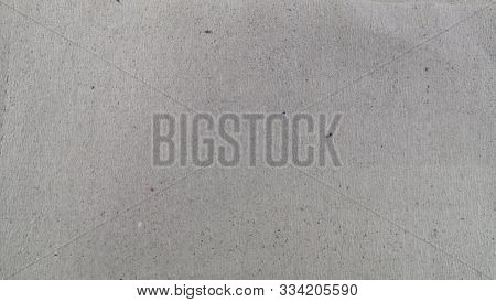 Gray Grungy Paper Sheet With Heterogeneous Sprinkles, Texture