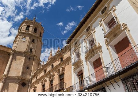 Tower Of The San Patricio Collegiate Church In Lorca, Spain