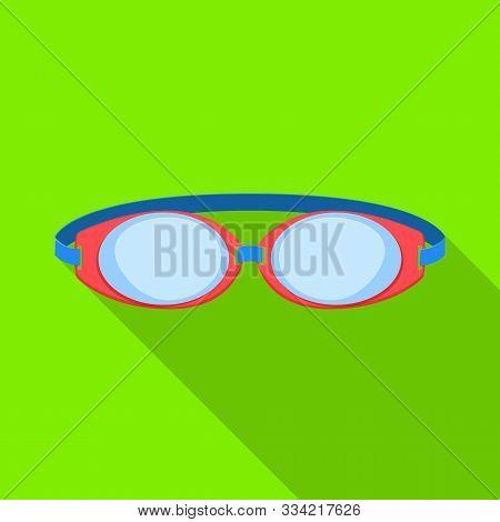 Isolated Object Of Glasses And Eyewear Symbol. Graphic Of Glasses And Eyewear Stock Symbol For Web.
