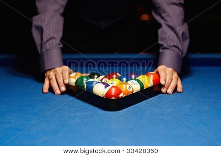 Hands on billiard balls