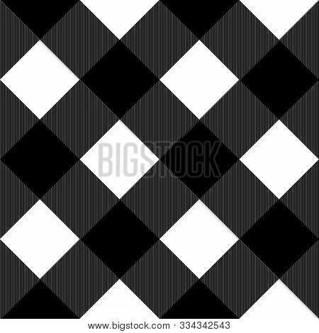 Tartan Seamless Graphic Pattern Background, Vector Illustration