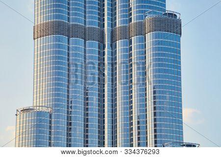 DUBAI, UNITED ARAB EMIRATES - MARCH 5, 2016: Burj Khalifa, the tallest building in the world since 2009