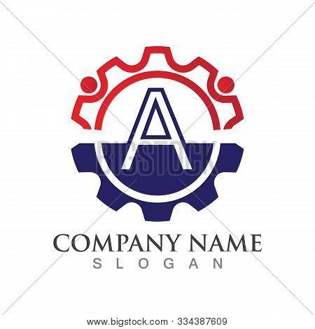 A Letter Logo Or Symbol Creative Template Design