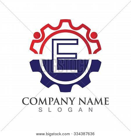 E Letter Logo Or Symbol Creative Template Design