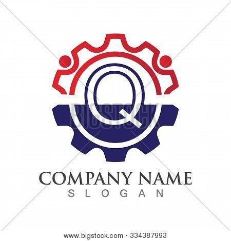 Q Letter Logo Or Symbol Creative Template Design