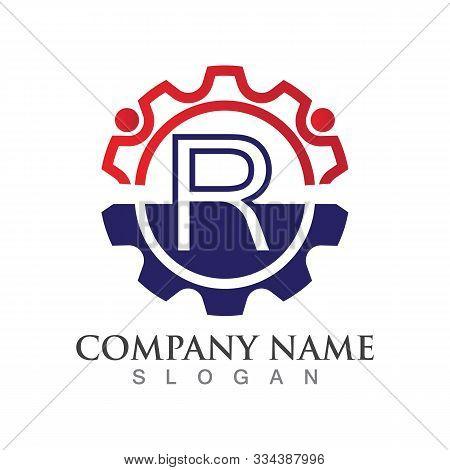 R Letter Logo Or Symbol Creative Template Design