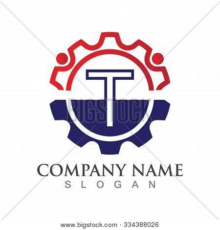 T Letter Logo Or Symbol Creative Template Design