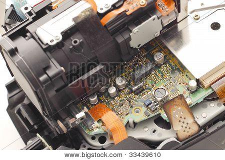 Transistors On Circuit Board