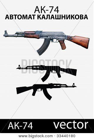Ak-74 gun