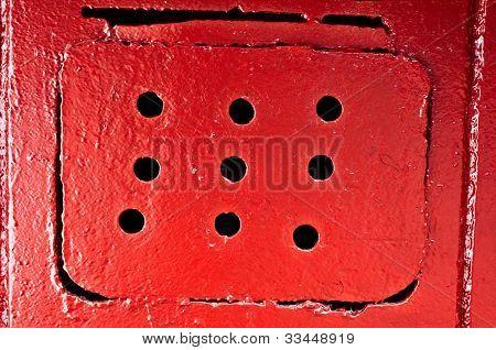 Red Ventilating Lattice