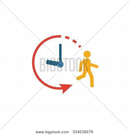 Endurance Icon. Simple Flat Element From Fitness Collection. Creative Endurance Icon For Templates,