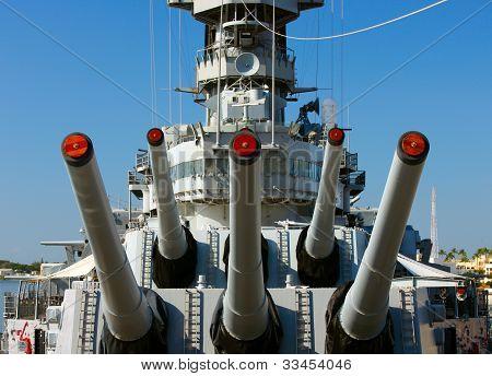 Naval Guns, Battleship