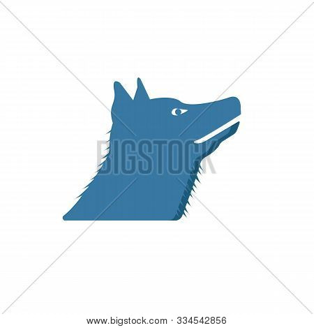 Werewolf Icon. Simple Flat Element From Halloween Collection. Creative Werewolf Icon For Templates,