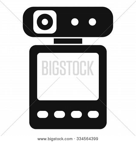 Dvr Recorder Icon. Simple Illustration Of Dvr Recorder Vector Icon For Web Design Isolated On White
