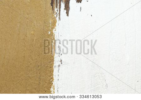 Grunge Brown And White Old Paper Background