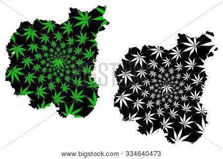 Chernihiv Oblast (administrative Divisions Of Ukraine, Oblasts Of Ukraine) Map Is Designed Cannabis