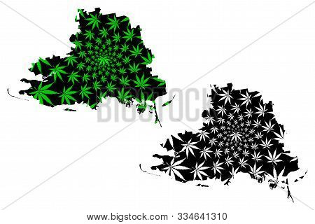 Kherson Oblast (administrative Divisions Of Ukraine, Oblasts Of Ukraine) Map Is Designed Cannabis Le