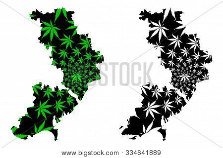 Odessa Oblast (administrative Divisions Of Ukraine, Oblasts Of Ukraine) Map Is Designed Cannabis Lea