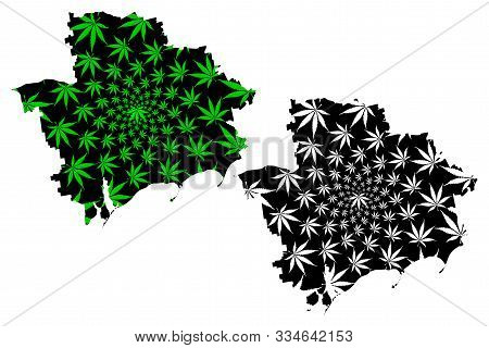 Zaporizhia Oblast (administrative Divisions Of Ukraine, Oblasts Of Ukraine) Map Is Designed Cannabis
