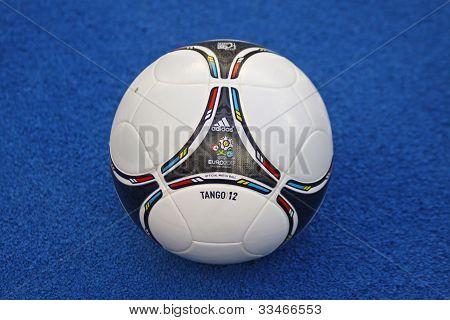 Close-up Official Uefa Euro 2012 Ball