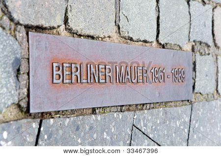 Berlin Wall Berliner Mauer