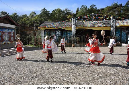 Traditional Naxi Dance