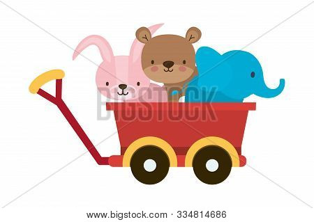 Variety Of Toys Design, Childhood Play Fun Kid Game Gift And Object Theme Vector Illustration