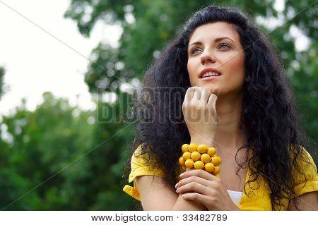 Girl At Nature