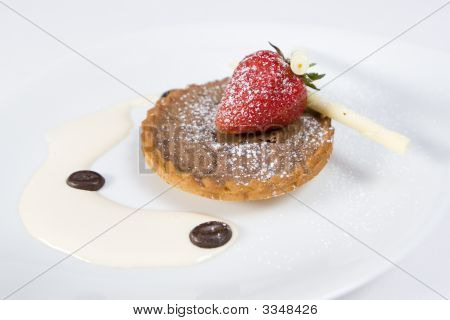 Chocolate Tart Dessert