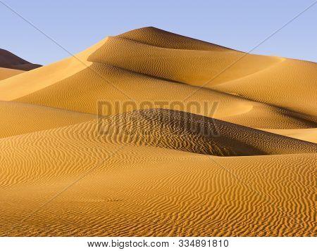 Desert, Abu Dhabi - Changing Patterns Of The Liwa Desert, Which Is Part Of The Rub Al Khali Desert O