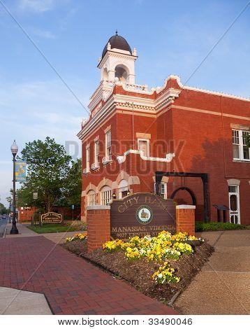 Manassas City Hall In Virginia