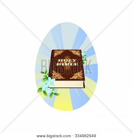 Holy Bible Vector. Holy Scripture. Holy Writ
