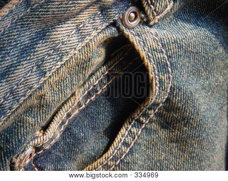 Front Pocket Jean Details