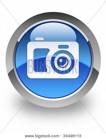 Digital camera glossy icon