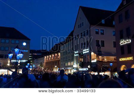 Nuremberg, Germany - Die Blaue Nacht 2012