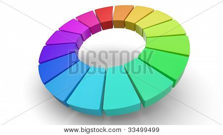 3D Color Wheel