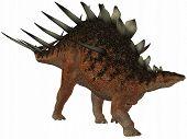 3D Render of an Kentrosaurus - Dinosaur poster