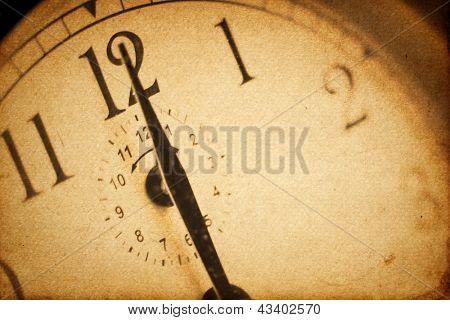Vintage clockface background