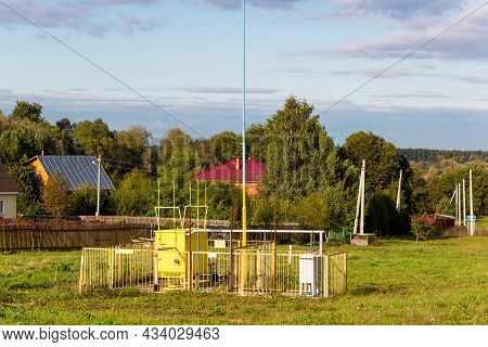 Gas Distribution Substation In Rural Areas Outdoor