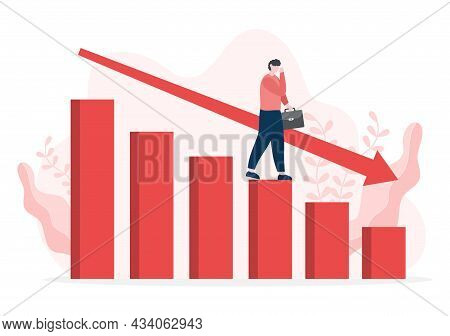 Loss In Business Lead To Bankruptcy, Economic Or Loan Payback Problems, Failure And The Sinking Of T