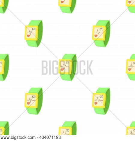 Fitness Bracelet Pattern Seamless Background Texture Repeat Wallpaper Geometric Vector