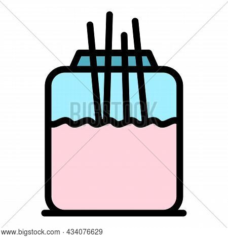 Diffuser Air Freshener Icon. Outline Diffuser Air Freshener Vector Icon Color Flat Isolated