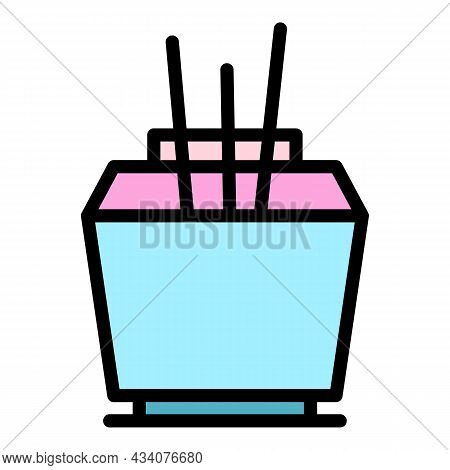 House Air Freshener Icon. Outline House Air Freshener Vector Icon Color Flat Isolated