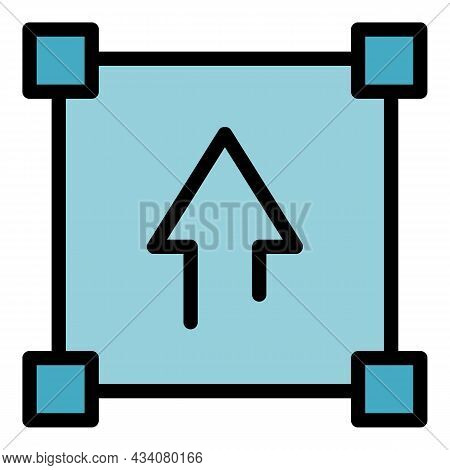 Redesign Tool Icon. Outline Redesign Tool Vector Icon Color Flat Isolated