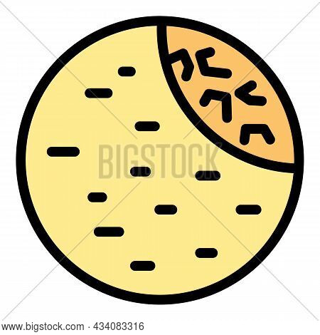 Israel Falafel Icon. Outline Israel Falafel Vector Icon Color Flat Isolated