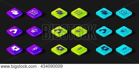 Set Chinese Yuan Currency, Paper Lantern, Sushi, Man, Gong And China Flag Icon. Vector