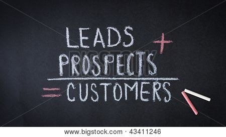 Leva, perspectivas, fórmula de clientes