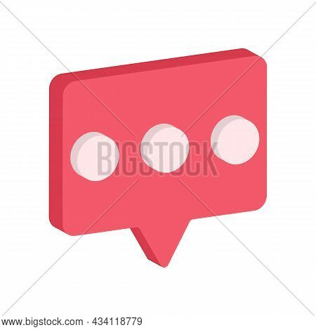 Chat Message Icon, Talk Bubble Speech Logo, Chat On Line Symbol, App Chat Messaging Business Concept