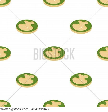 Sand Bunker In The Golf Course Pattern Seamless Background Texture Repeat Wallpaper Geometric Vector
