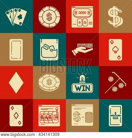 Set Joker Playing Card, Stick For Chips, Playing With Spades Symbol, Online Poker Table Game, Glass